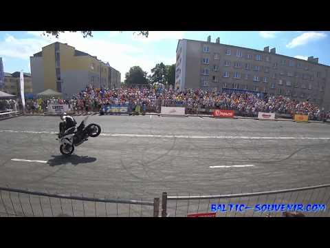 Спортбайк-Фристайл / Sportbike freestyle rider Joona Vatanen & Festival of Extreme Sports