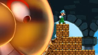 New Super Luigi U - All Castles