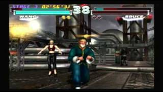 getlinkyoutube.com-Tekken Tag Team Tournament - Nina & Wang Playthrough (Request)