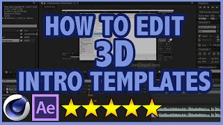 getlinkyoutube.com-How to edit Cinema 4D and After Effects 3D Intro Templates (FULL TUTORIAL)