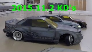 ロケットバニー ラジコン2駆ドリフト 苫小牧KD's RC DRIFT CARS RWD(2WD)