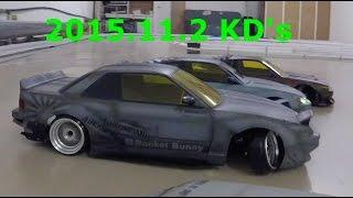 getlinkyoutube.com-ロケットバニー ラジコン2駆ドリフト 苫小牧KD's RC DRIFT CARS RWD(2WD)