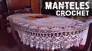 getlinkyoutube.com-Manteles - Tejidos a Crochet