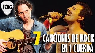 Como Tocar 7 Grandes Canciones De Rock En Guitarra Acústica: Tutorial Completo! TCDG