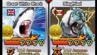 getlinkyoutube.com-Animal Kaiser Great White Shark vs Siegfried