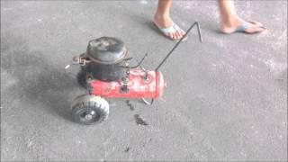 compressor caseiro homemade compressor