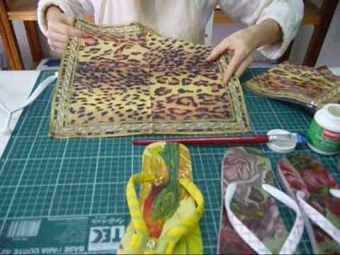 Fradelli videoaula 4 - Confecção de Chinelos Decorados