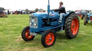 getlinkyoutube.com-Ford and Fordson tractors at the Fife Agricultural Vintage Tractor and Machinery club rally 2009