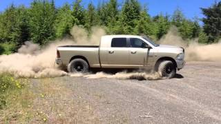 getlinkyoutube.com-2011 Dodge Ram 6.7 Cummins MBRP exhaust full 5 inch off road Diesel 4x4