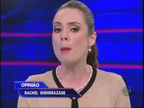 Rachel Sheherazade fala sobre a violência contra a mulher