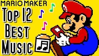 getlinkyoutube.com-Super Mario Maker Top 12 MUSIC Courses of the YEAR (Wii U)