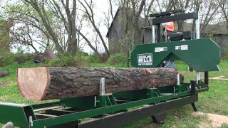 getlinkyoutube.com-2012 Woodland Mills HM126 Portable Sawmill Promotional Video
