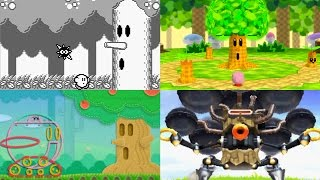 getlinkyoutube.com-Evolution of Whispy Woods Battles in Kirby games
