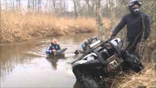 """Ukmergės ATV """"Pelkių siaubai"""" ir Utenos ATV """"Purvo Šernai"""". MAUDYMOSI SEZONO ATIDARYMAS. 2016-02-20"""
