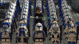 New Lego Star Wars 501st Clone Army (2014) Update