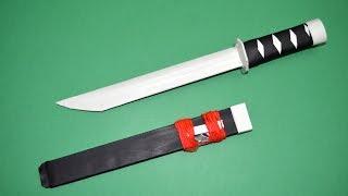 getlinkyoutube.com-Como hacer una Espada de Papel | Tanto de Papel│ Katana de Papel