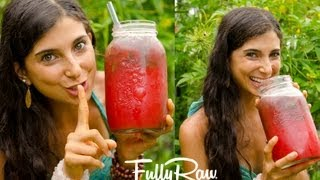 getlinkyoutube.com-My Watermelon Juice Secret!