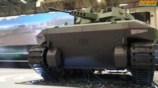 Kaplan-20 ACV new generation tracked armoured fighting vehicle FNSS IDEF 2015 defense exhibition ist