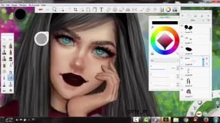 getlinkyoutube.com-[ Digital drawing ]
