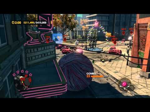 Saints Row 3: Sexy Kitty Yarngasm w- Nooby