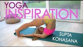 getlinkyoutube.com-Ashtanga Yoga: Supta Konasana with Kino