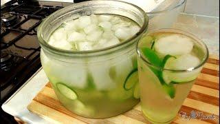 getlinkyoutube.com-Weight Loss 10kg Flat Belly - Detox Drink