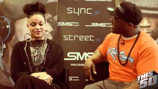 getlinkyoutube.com-Charli Baltimore Talks Car Wash Employment Rumors, G-Unit Beef & Her Old Name Was Poison T