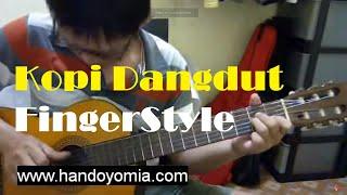 Kopi Dangdut ( Moliendo Café ) - Fahmi Shahab - Fingerstyle Guitar Solo