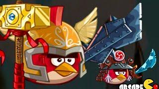 getlinkyoutube.com-Angry Birds Epic:NEW Cave 6, Endless Winter 5 NO Hacking Golden Piggies