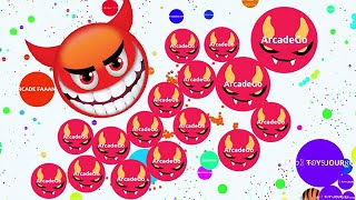 getlinkyoutube.com-Agario Mobile Solo And EPIC TEAM HIGH SCORE 70K In Party Mode (Agar.io Trolling Funny Moments)