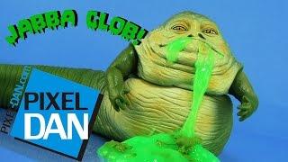 getlinkyoutube.com-Jabba Glob Star Wars The Phantom Menace Slime Figure Video Review (Retro Toy Rewind)