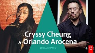 getlinkyoutube.com-Live Illustrator with Cryssy Cheung & Orlando Arocena - AdobeLive