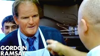 Cooking in Disguise - Gordon Ramsay width=