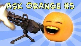 getlinkyoutube.com-Annoying Orange - Ask Orange #5: Once in a Blew Moon!