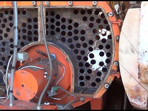 Fire Tube Steam Boiler Rebuild