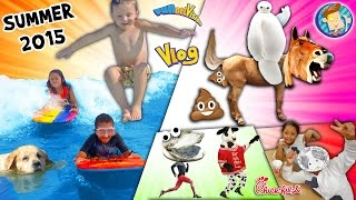 getlinkyoutube.com-Horsey Go Poopy! Baymax is Poofy! Doggy in a Pooly! Cow go Mooey! (SUMMER 2015 FUNnel Vision Vlog)