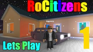 [ROBLOX: RoCitizens] - Lets Play w/ Friends Ep 1 - ITS SNOWING!