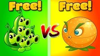 getlinkyoutube.com-Plants vs Zombies 2 CITRON VS PEA POD   Pomelo vs Vaina