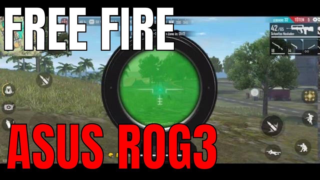 Garena free fire Asus ROG3