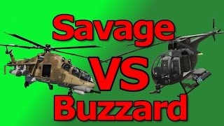 getlinkyoutube.com-GTA 5: Savage VS Buzzard (Which is A Better Helicopter?)