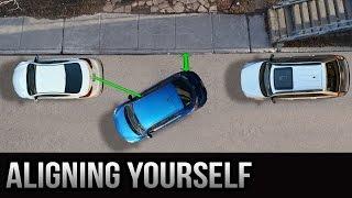 getlinkyoutube.com-Parallel Parking - Aligning Yourself Properly