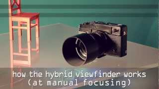 getlinkyoutube.com-FUJIFILM X-Pro1 Hybrid Viewfinder - how it works at manual focusing