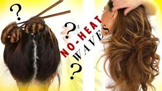 "getlinkyoutube.com-1-Minute HEATLESS ""CHOPSTICK"" CURLS  OVERNIGHT★  FAVORITES ft. Beenigma | Hairstyles"