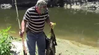 getlinkyoutube.com-Catfish Creek Fishing