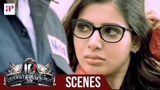 getlinkyoutube.com-10 Endrathukulla Movie | Fight Scene | Vikram saves Samantha | Abhimanyu Singh tensed about Samantha