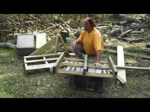 PALLETS Beekeeping Low Cost Light Weight Beehive Treated Pallet Building Ga.Beekeeper John Pluta