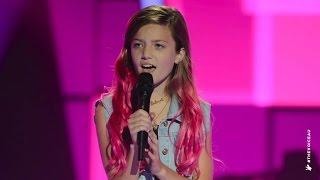 getlinkyoutube.com-Eve Sings Still Into You   The Voice Kids Australia 2014