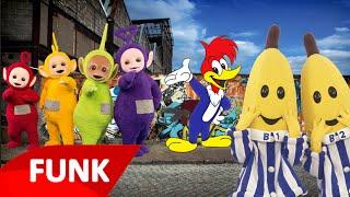 getlinkyoutube.com-FUNK Bananas de Pijamas Teletubbies e Pica Pau (Video Clipe)