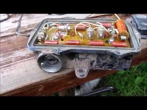 Расположение щеток генератора в ГАЗ 69