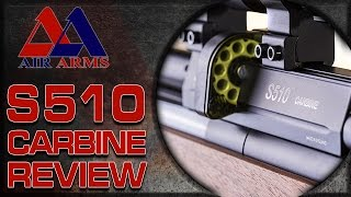 getlinkyoutube.com-Gun & Shooting Review - The Air Arms S510 Carbine